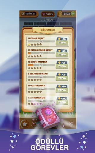 Kelime Hasadu0131 - Yeni Tu00fcrku00e7e Kelime Oyunu apkmr screenshots 9