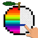 Pixel Art Coloring - Relaxing Color by Number icon