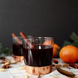 Traditional Swedish Mulled Wine.