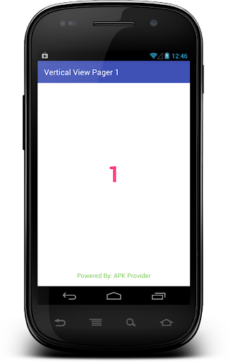 Vertical View Pager