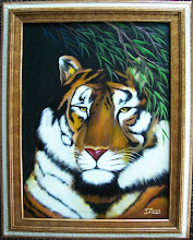 Photo: Tiger. 18 x 24 Oil on Canvas. $399.00