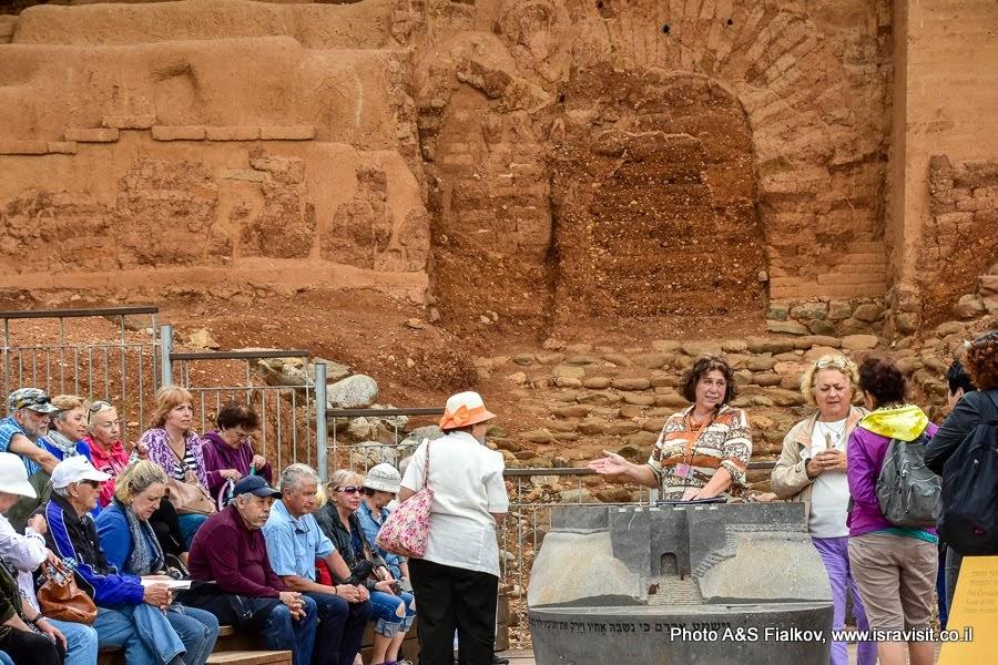 Экскурсия в древнем Ханаанском городе Лиш. «Израильские Врата».