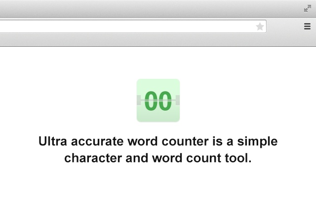 Ultra accurate word counter
