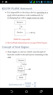 Thermodynamics Notes screenshot