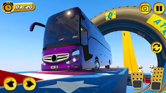 Superhero Big Bus Stunts Drive - náhled