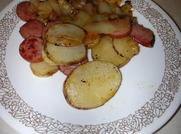 Fried Cabbage, Turkey Sausage Skillets