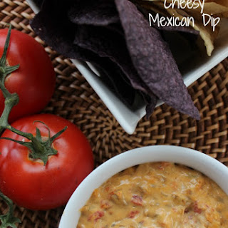 Slow Cooker Cheesy Mexican Dip.