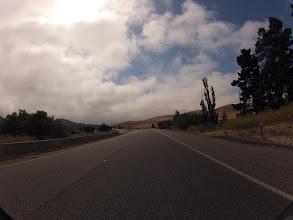 Photo: The deserted lands after San Luis Obispo.