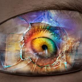Shattered Dreams by Marianna Armata - Digital Art Things ( foto )