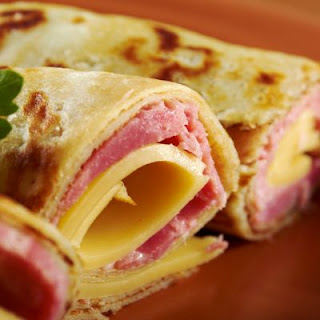 Heavenly Ham and Cheese Party Rolls