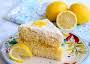 Southern Lemon White Cake With Lemon Curd Recipe