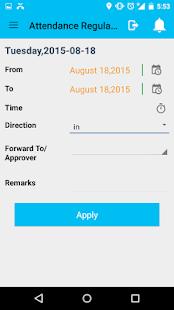 SmartOffice ESS - náhled