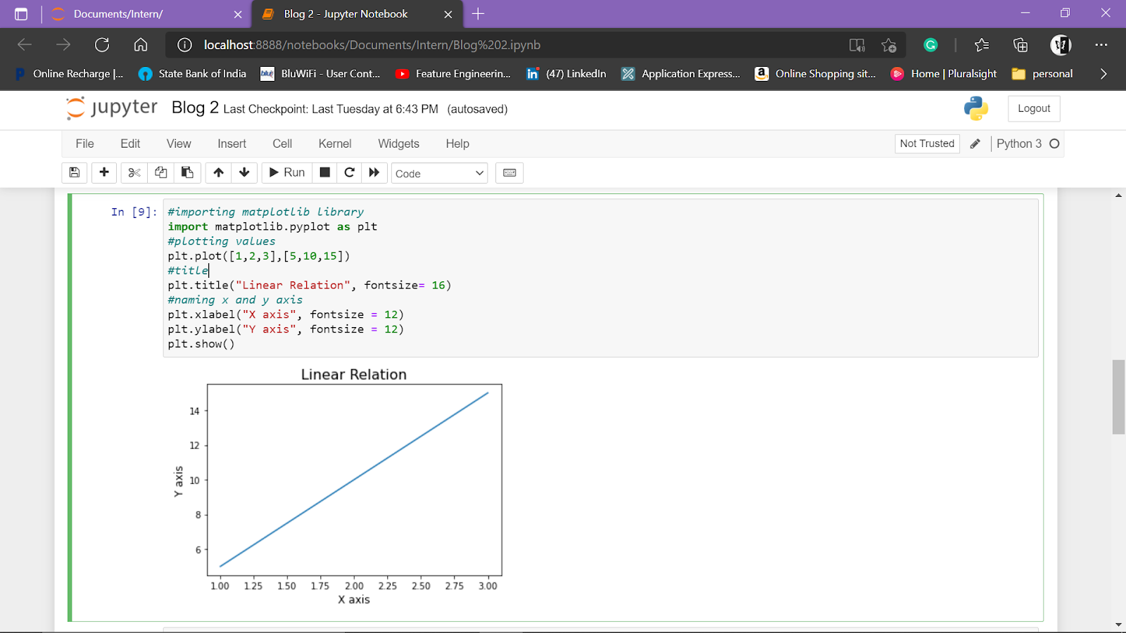 Statistical Data Analysis 3