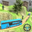 Police Bus Simulator Transport Driving Game icon