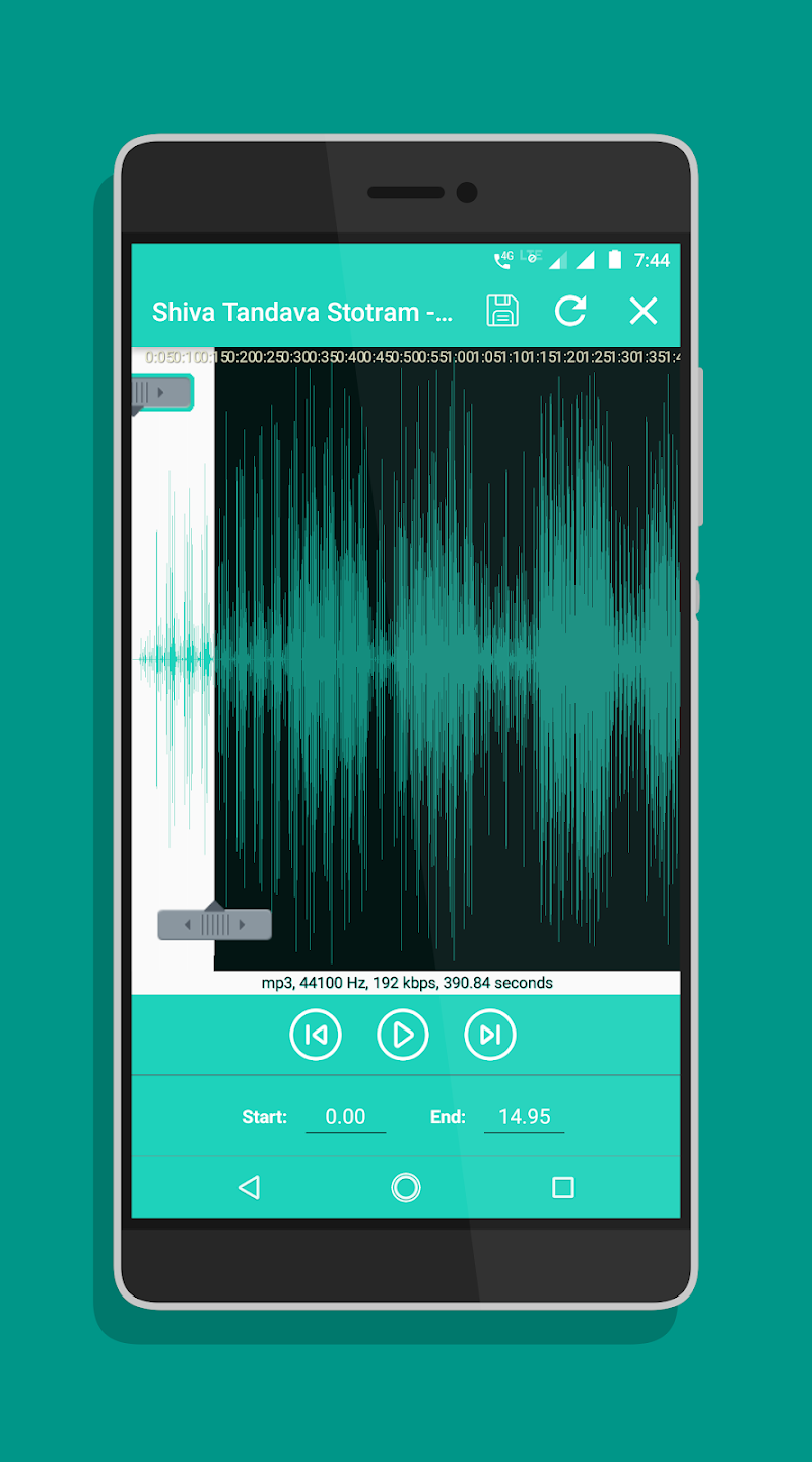 Ringtone Maker - Mp3 Cutter Screenshot 9