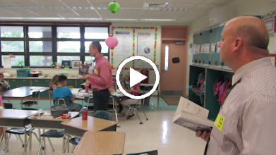 Video: Blake and Steven talking about the students' new dictionaries at DeBary Elementary School.