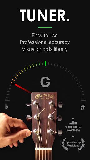Guitar Tuner Pro- Tune your Guitar, Bass, Ukulele 1.03.03 screenshots 1