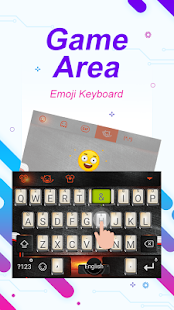 Game Area Theme&Emoji Keyboard - náhled