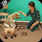 Virtuale Cane animale domestic gatto casa avventur icon