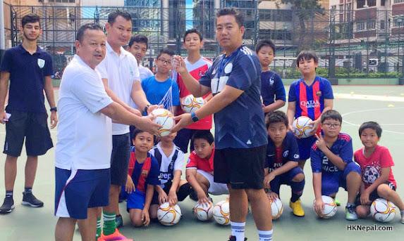 सहारा हङकङले सुरु गर्यो हङकङमा फुटबल प्रशिक्षण कार्यक्रम