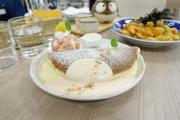台南新天地 Woosaパンケーキ 屋莎鬆餅屋(內附菜單) 漢堡 貝殼麵 丼飯 早午餐