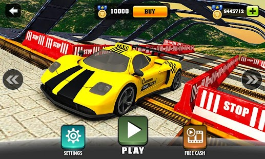 Impossible Taxi Driving Simulator Tracks- screenshot thumbnail