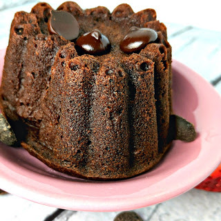 Chocolate Heart Lava Cakes [Vegan, Gluten-Free] Recipe