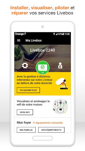 Ma Livebox Android App Screenshot