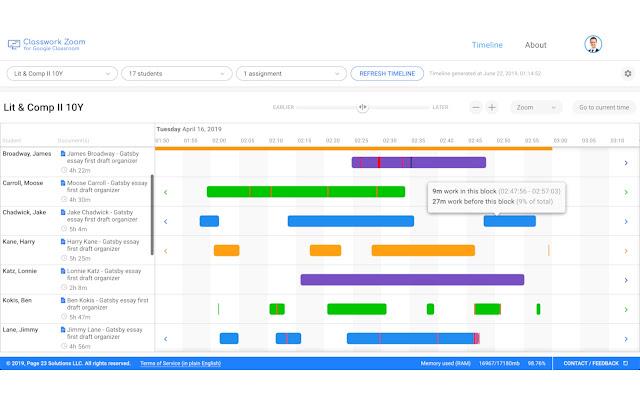 Classwork Zoom - Chrome Web Store