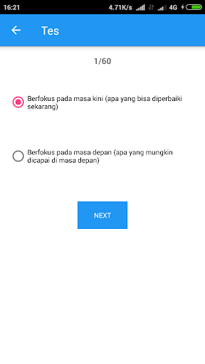 Tes Kepribadian Indonesia 1.0 screenshots 4