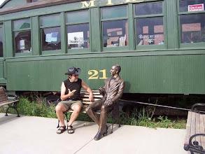 Photo: u historické železnice