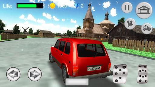 Russian SUV Simulator apkmr screenshots 4