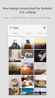 Screenshot of Fotor Photo Editor