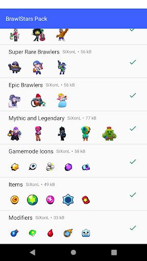 Brawl Stars Sticker Pack For Whatsapp 1.0 screenshots 2