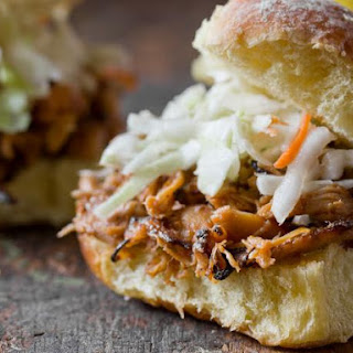 Barbecue Chicken Sliders.