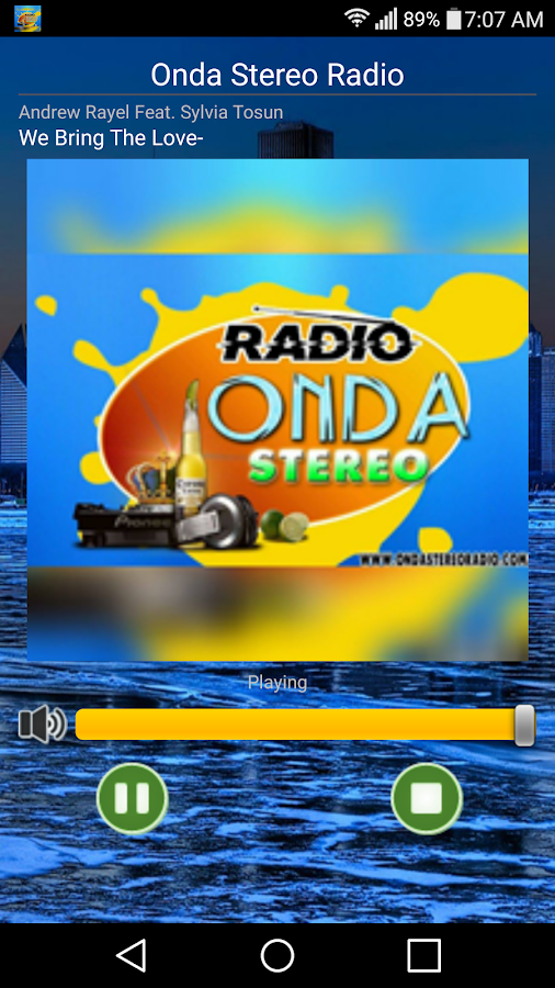 onda stereo radio- screenshot