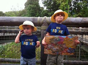 Photo: Brothers at Safari Park