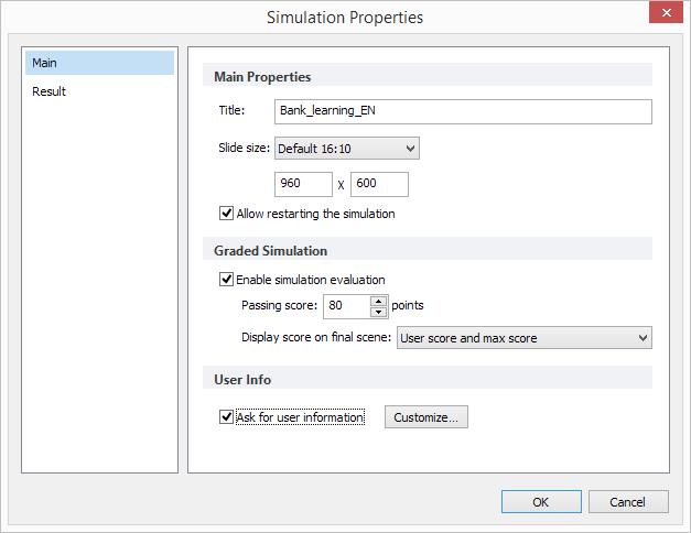 Simulation Properties