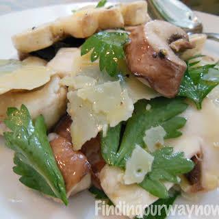 Fresh Mushroom Salad.