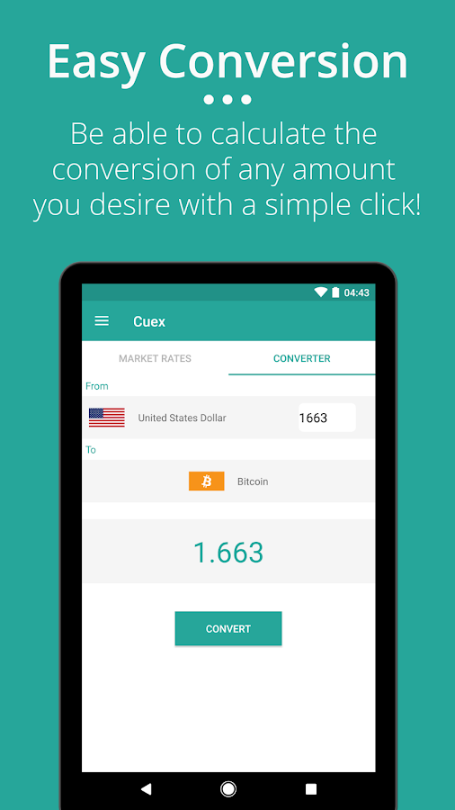 Cuex - Live Currency Exchange- screenshot