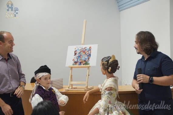 Boceto Infantil 2020 de San Vicente - Periodista Azzati
