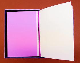 Photo: Llibre d'encàrrec dissenyat i enquadernat a mà per Ferran Cerdans Serra de Llibres Artesans