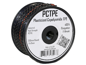 Taulman Black PCTPE Nylon TPE Co-Polymer - 3.00mm (0.45kg)