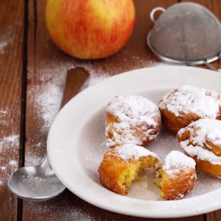 Golden Honey Apple Fritters