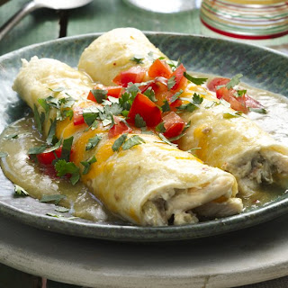 Creamy Chicken & Chile Enchiladas