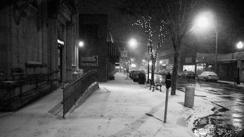 Photo: Is that falling snow or noise from the camera sensor? I'll never tell...
