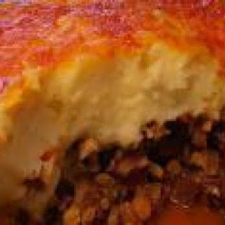 Leftover Brisket Sheperds Pie