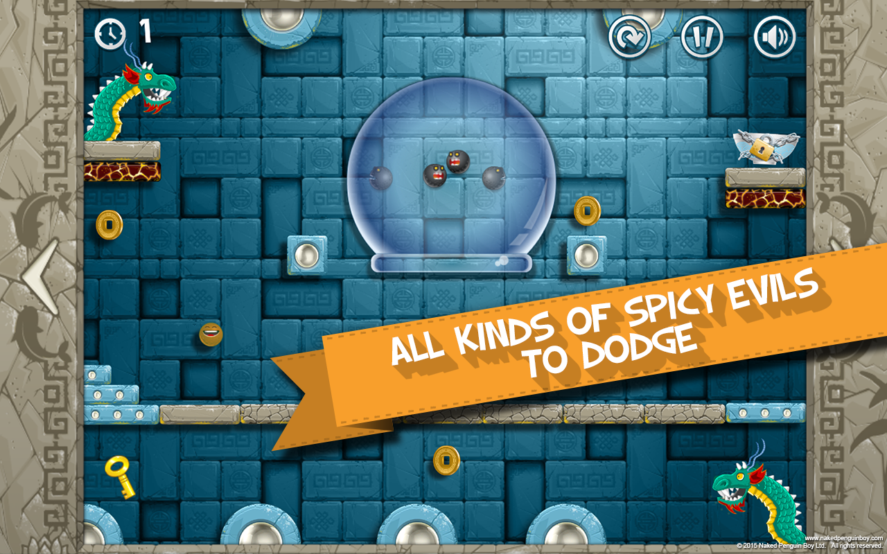 Dunky Dough Ball- screenshot