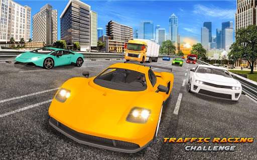 City Highway Traffic Racer - 3D Car Racing apktram screenshots 12