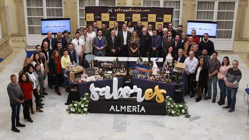 Presentación de la nueva feria \'Sabores Almería\' en Diputación.